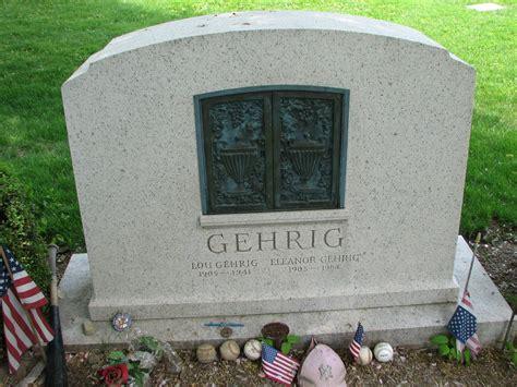 lou gehrig grave