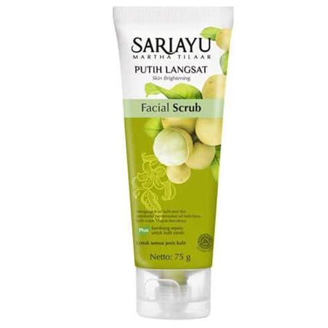 Sariayu Scrub Jeruk 10 merk scrub wajah yang bagus dan berkualitas