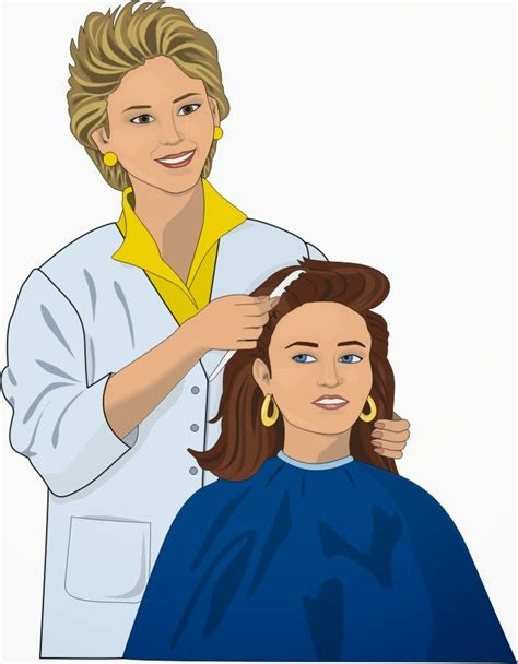 cleaning lady cartoon   clip art
