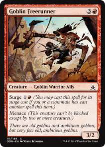 mtg goblin deck goblin freerunner the rumor mill magic fundamentals
