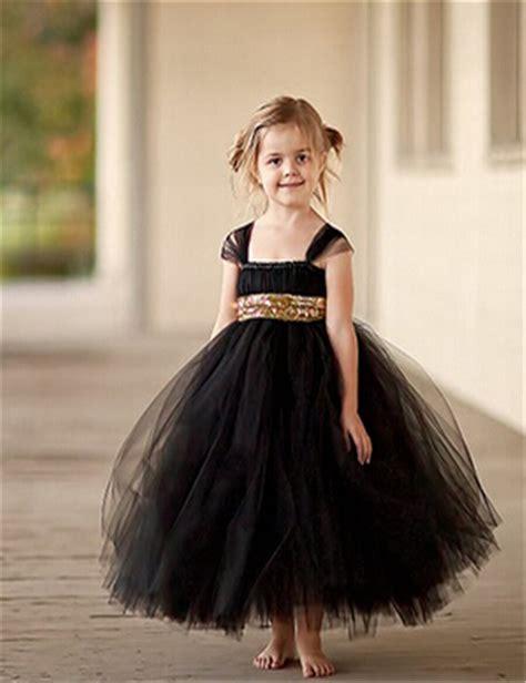 black baby dress 2016 fashion gold sequin black flower dresses baby