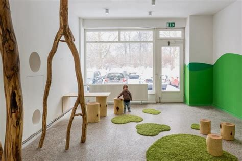 design interior nature beautiful day care interior in simple and natural design