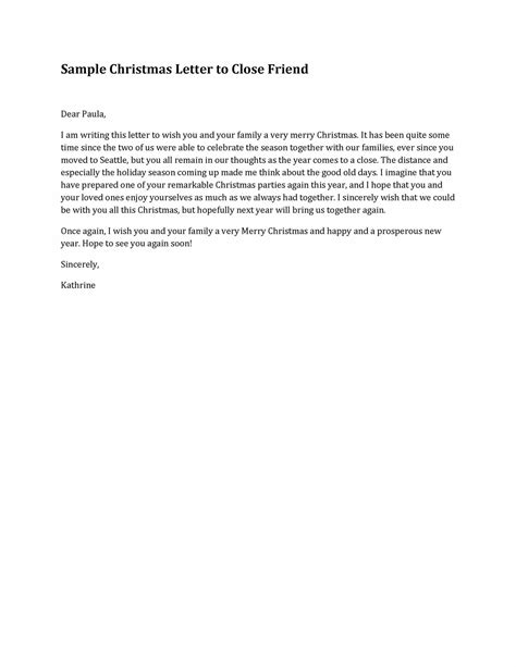 Closing Letter For A Friend thank you for your business email template best free