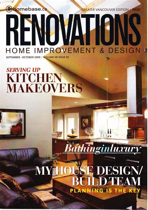 download home decor and renovations vancouver september michele buchamer north vancouver real estate press
