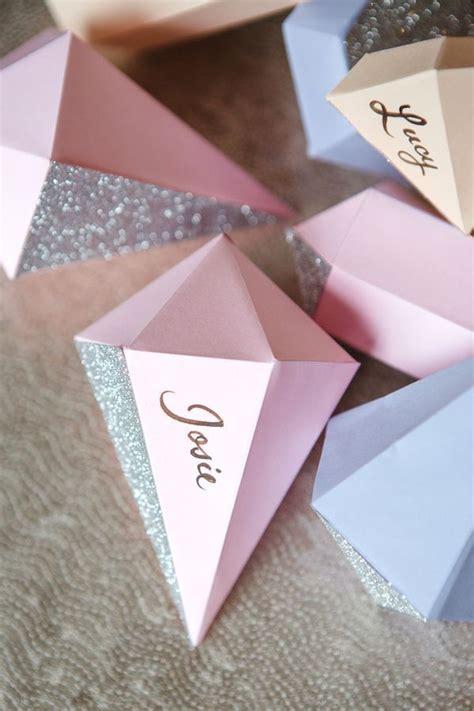 origami mariage diamands diy activit 233 s manuelles