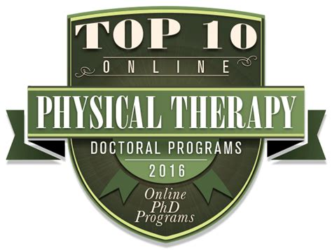Best Doctoral Programs In Education - top 10 doctoral programs in physical therapy 2016