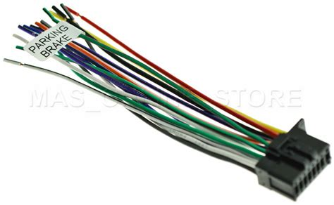 wire harness for pioneer sphda120 sph da120 pay today