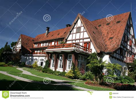 house in german german style house in brazil stock photo image 9080090