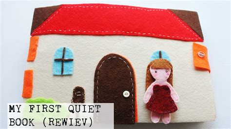 soft quiet book pattern my first diy quiet book doll house ispired review