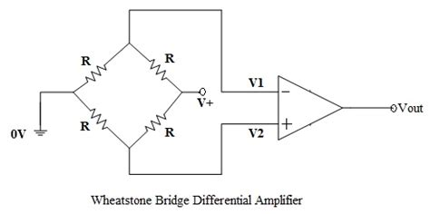 resistor bridge lifier circuit op differential lifier circuit voltage subtractor