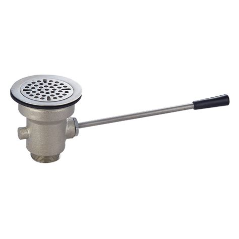 utility sink drain lever waste drain for utility sink
