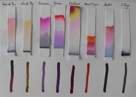 How To Make Chromatography Paper - 17 best ideas about paper chromatography on