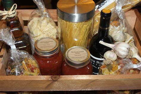 home grown and home made christmas gift baskets creating