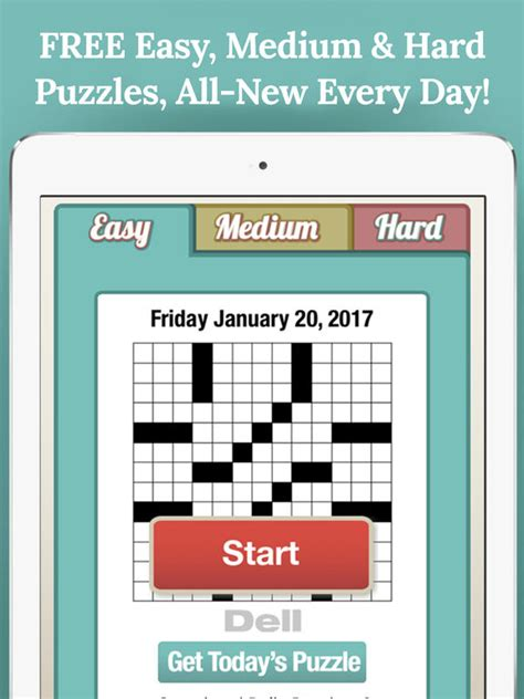 easy crossword puzzles app penny dell crossword free daily crosswords apppicker