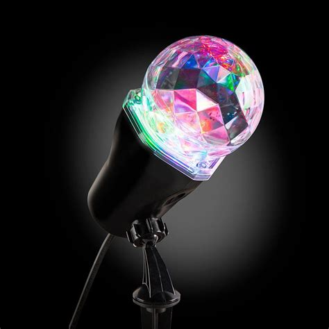 projector light show lightshow applights projection spot light stake 37871