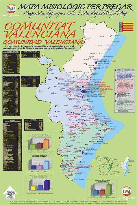nuevo mtodo de valoracin en la comunidad valenciana nuevo mapa de oraci 243 n por valencia conferencia para la