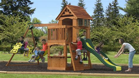 backyard playground sets kids playground home design ideas