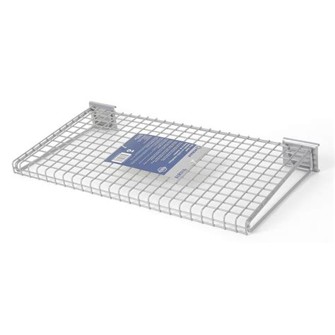 shop kobalt corner 8 63 in d metal color wire shelf at