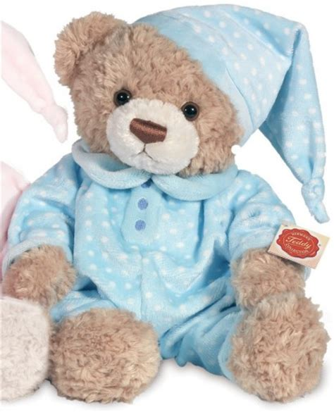 Teddy Piyama by Hermann Teddy Pyjama Blue 38cm Teddy Hermann 91339
