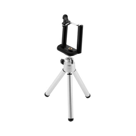 Mini Tripod Plus Holder U T1910 universal 1 set mini stand tripod mount with holder for iphone 6 6plus 5s 5 for samsung in