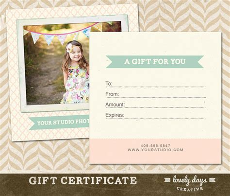 photography gift certificate templates 17 free word