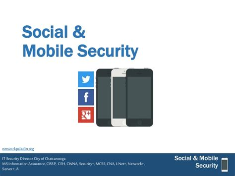 social mobile security