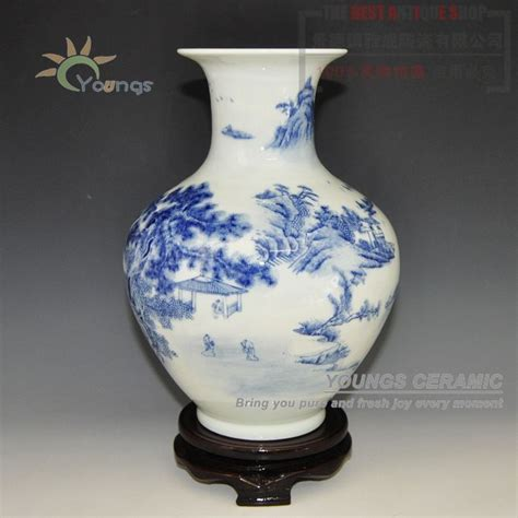 Antique Style Blue And White Vases In Vases From Home Garden On Aliexpress Alibaba Decorative Antique Blue And White Ceramic Porcelain Vases View Vase Ceramic Blue White