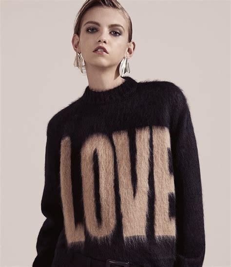 Givenchy 2016 Sweater sharp turns givenchy fall 2016 lookbook at barneys new york nawo
