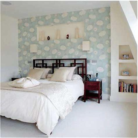blue bedroom wallpaper ideas ideas para decorar un dormitorio con papel pintado y