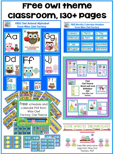 printable owl calendar numbers 5 best images of classroom calendar printables free
