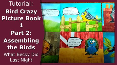 one picture book bird picture book 1 part 2 creating the birds tim
