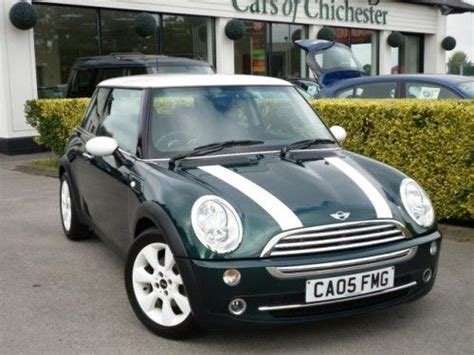 Pita Jepit Mini Green Stripes the new mini cooper s in racing green with white