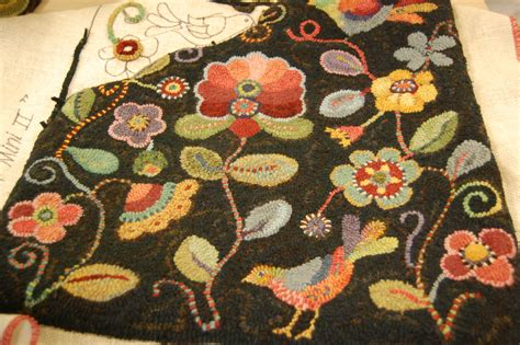 Bird Rugs by No Neck Birds Rug A Daily Dose Of Fiber