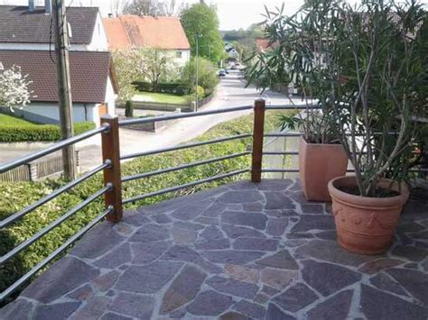 terrassengeländer edelstahl terrassengel 228 nder aus holz und edelstahl selber bauen