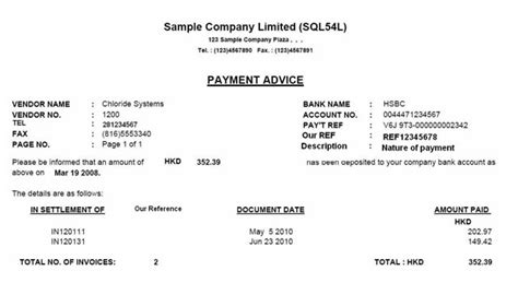 payment advice template payment advice template payment receipt freewordtemplates