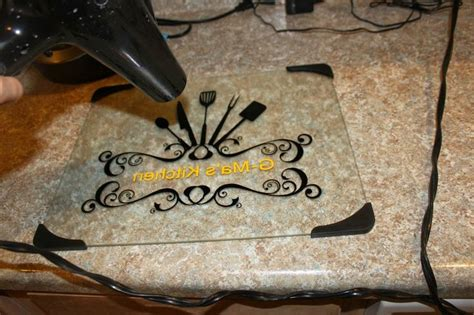 learning   crafty steps  vinyl  glass cutting