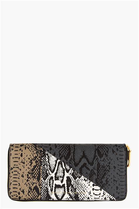 Bj 122 Leopard Dress With Belt Gray marc by marc slate grey sophisticato continental wallet