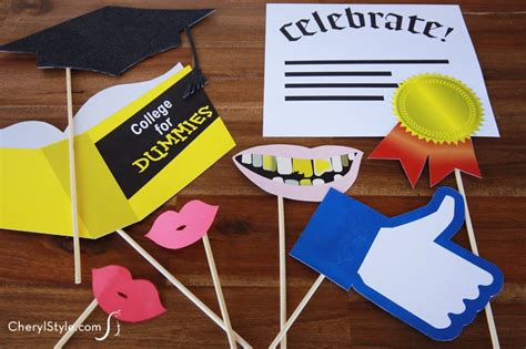 printable photo booth props graduation printable photo booth props everyday dishes