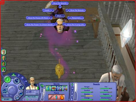 Sims 2 Genie L by Mod The Sims Better Genie L Wishes