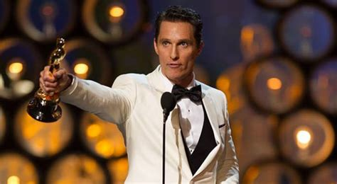 film oscar matthew mcconaughey acceptance speeches who gets thanked the most at the