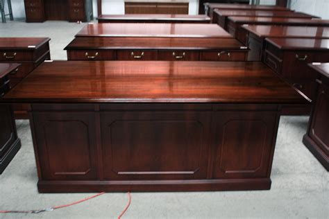 kimball president executive desk savvi commercial and office furniture the single source