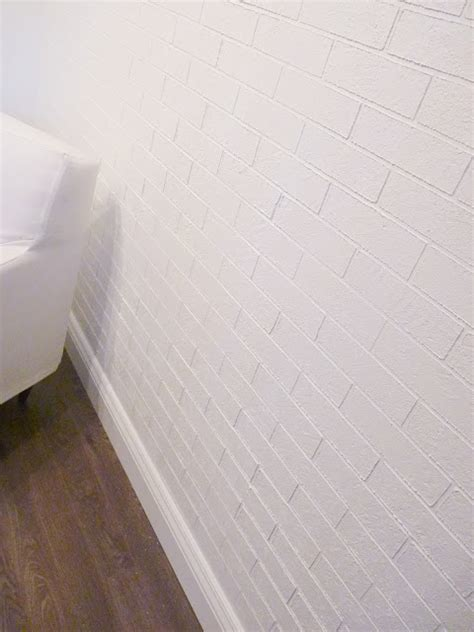 top diy tutorials how to make a faux exposed brick wall