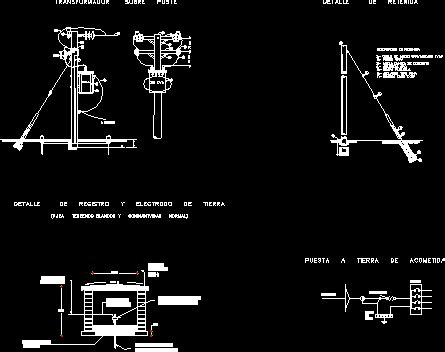 electrical installation details dwg detail for autocad