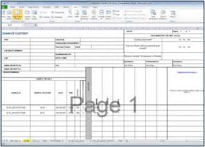 Exle Sop Template by Edge Standard Operating Procedure 8 Create Coc Reports