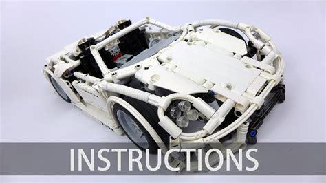 technic porsche instructions technic porsche 918 spyder building instructions
