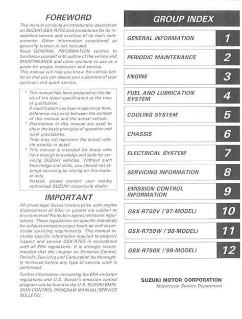 service repair manual free download 1998 suzuki x 90 lane departure warning 1998 suzuki gsxr750 service repair manual download download manua