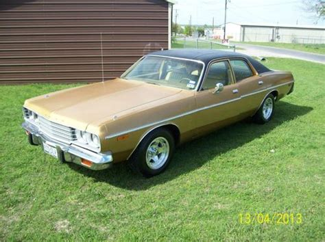1974 dodge sedan for sale sell used 1974 dodge coronet custom sedan 4 door 5 2l in