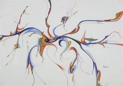 E Barnes Artist Abstract By Alex Janvier Inuit Amp Native Art Of Canada