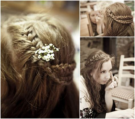 Vintage Wedding Hair Somerset by You Look So Pretty Floral