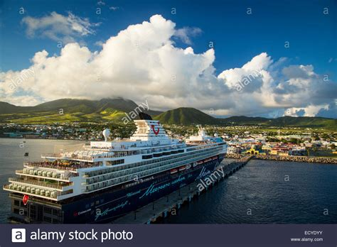 st kitts cruise cruise ship docked in basseterre st kitts west indies